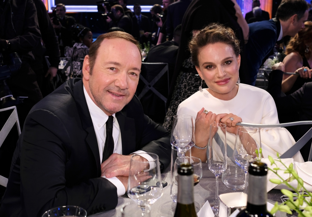 [ Cérémonie ]  Actors Kevin Spacey and Natalie Portman