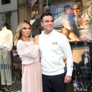 Robbie Williams and Ayda Williams, Marc O'Polo 50th anniversary