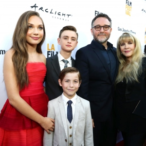"Maddie Ziegler, Jaeden Lieberher, Jacob Tremblay, Colin Trevorrow and Stevie Nicks seen at Focus Features ""The Book of Henry"" Premiere"