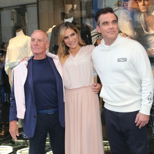Werner Boeck, Robbie Williams and his wife Ayda Williams