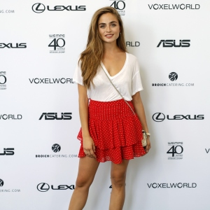 Sofia Tsakiridou attends the 3D Fashion