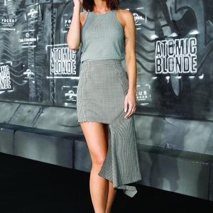 Lena Meyer-Landrut attends the 'Atomic Blonde'