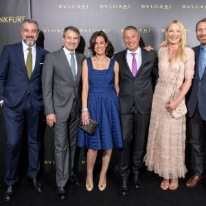 Bulgari Boutique Opening In Frankfurt Am Main