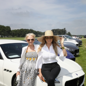 Lisa Maxwell and Carol Vorderman - Maserati Royal Charity Polo Trophy 2018