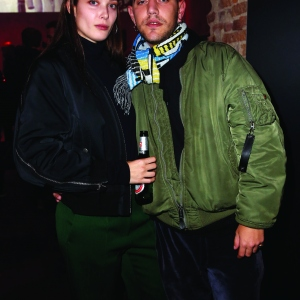 Moncler X Stylebop.com launch event at the Musikbrauerei