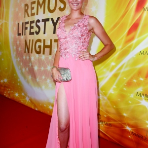 Model Jennifer Hof attends the Remus Lifestyle Night