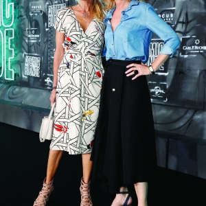 Ursula Karven and Maria Furtwaengler attend the 'Atomic Blonde'