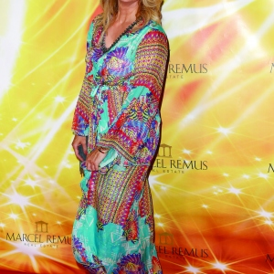 Frauke Ludowig attends the Remus Lifestyle Night