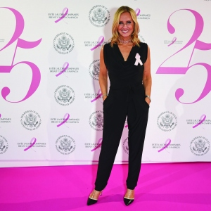 Jacquie Beltrao attends the 25th Anniversary of the Breast Cancer Campaign
