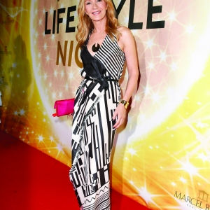 Katja Flint attends the Remus Lifestyle Night