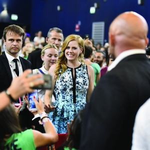 Amy Adams meets the jurors during Giffoni Film Festival 2017