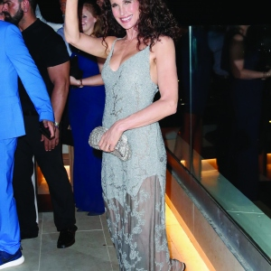 Andie MacDowell attends the Remus Lifestyle Night