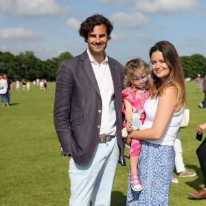 Rupert Finch and Lady Natasha Rufus Isaacs - Maserati Royal Charity Polo Trophy 2018