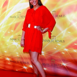 Lucia Strunz attends the Remus Lifestyle Night