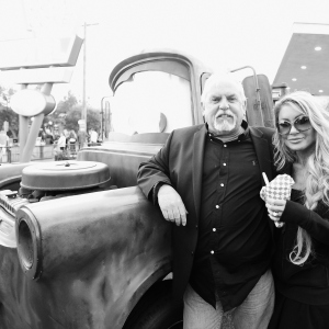 Actor John Ratzenberger and Julie Blichfeldt, World Premiere of Disney/Pixar s  Cars 3