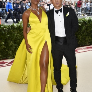 Gabrielle Union and Prabal Gurung : Fashion & The Catholic Imagination Costume Institute Gala