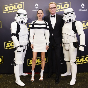 Jennifer Connelly, Paul Bettanyand and Stormtroopers