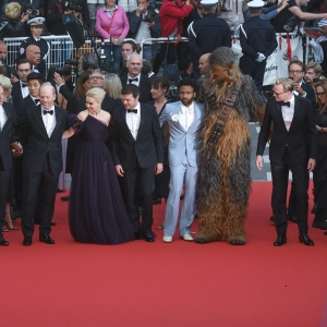 Cannes Red Carpet : SOLO A STAR WARS STORY
