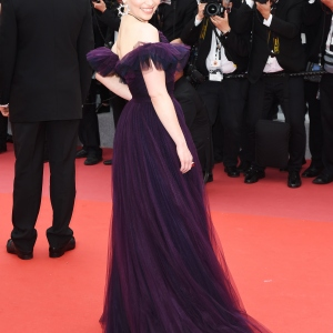 Actress Emilia Clarke, Cannes Red Carpet : SOLO A STAR WARS STORY